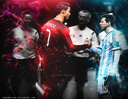 Gods - Cr7 - Messi by GreenMotion