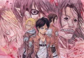 Shingeki No Kyojin The Titans by Nick-Ian
