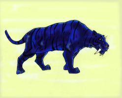 Cryptid - Maltese Tiger - 01 by Cybopath