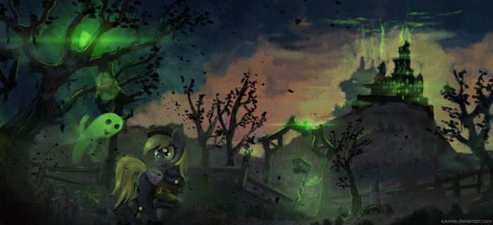 The Spookiest Delivery by Lukeine