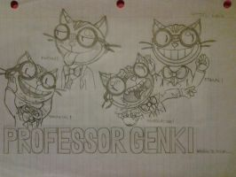 Saints Row: The Third- Professor Genki by Sega-HTF