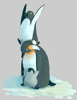 Penguin Tower by Kikilin