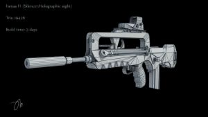 Famas F1 by JasonMartin3D