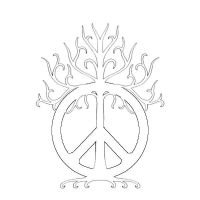 peace tree tattoo by pennylanelives