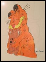 Garfield by Lara Ingride by Topas2012