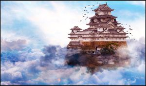 castle in sky by gadddd
