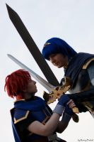 roy vs. marth by st3rn1