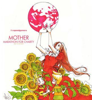 Mother Marathon by spacecoyote