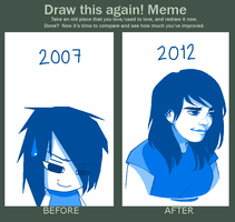 Draw this again meme by Raiilynezz