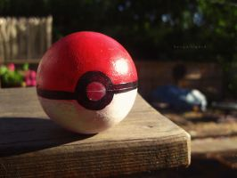 Homemade Pokeball by BengalTiger4