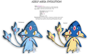 AZELF - Mega Evolution by Sapphiresenthiss