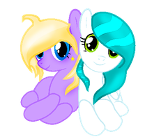 Just Two Sisters by IcyPonyArtist