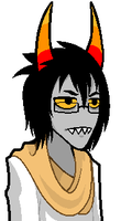 :: ANIMATED Fantroll Talksprite Commission 1 :: by Tigerman-exe