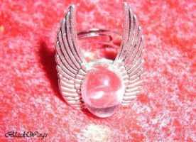 Angel Ring by BlackWings-jewelry