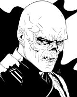 Red Skull - I See Red by LRitchieART
