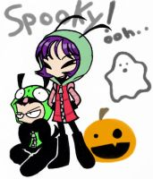 Haaappy Halloween by chanchan