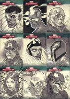 Marvel Masterpieces III Set 6 by jeffwamester