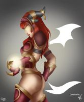 Colour Contest - Alexstrasza by bluphino