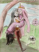 Marci and Peebles by KatieMatie