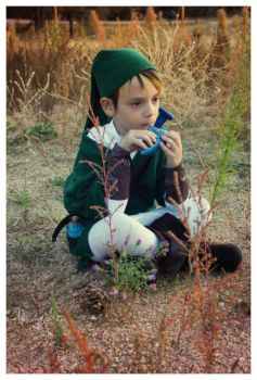Little Link Playing the Ocarina by ryamcshme