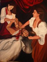 Judith Beheading Holofernes by Fullmoon-rose
