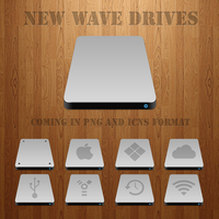 New Wave Drives by diablo9983