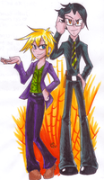 Modern Alois and Claude by Yugilatichar