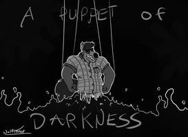 A Puppet of Darkness (b/w) (words) by enigmaticanimal
