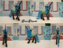 Custom queen Chrysalis by ShiveringCanvas
