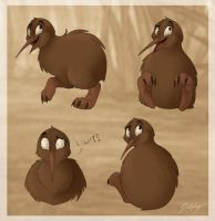 Iwi the Kiwi by DolphyDolphiana