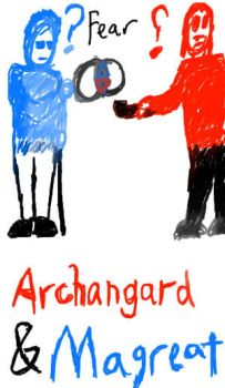 Archangard and Magreat by DJay32