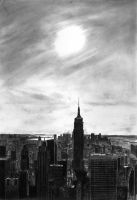 New York City ..: pencil :.. by wyldin