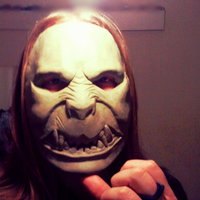 Monster Mask - Test Fitting by foxdog77
