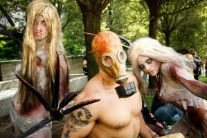 Chicago Zombie March by UndercoverEnvy