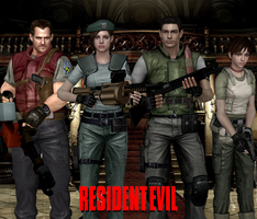 Resident Evil 1 18 Years by Leon5cottKennedy