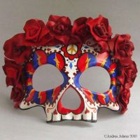 Day of the Deadheads Mask by Beadmask