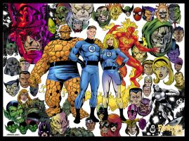 Fantastic Four Family by macart1