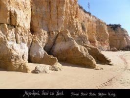Sand and Rock Stock by Meta-Stock