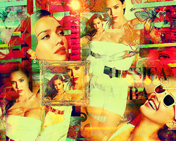 Jessica alba blend by creativesplash