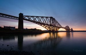Forth Rail Bridge by FlippinPhil