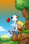 Calvin and Hobbes by themico