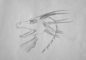 Dragon head 1 by Redbell9