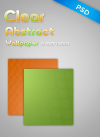 ClearAbstractWallpaper PSD by jjfwh