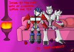 OTP OptimusxMegatron TFP by PurrV