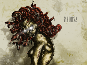 #31DaysOfMonsters Day 30: Medusa