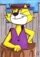 Top Cat Sketchcard by kevbrett