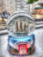 Magic Snowglobe by DeathbySkittlez
