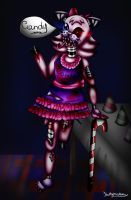 .:Candy the cat-Five Nights At Freddy's:. by Kathy-the-echidna