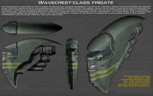 Wavecrest-class frigate ortho [New] by unusualsuspex
