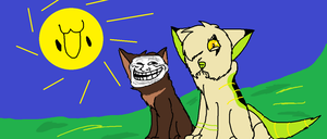 A Typical Day with RainDreamSexMeow by PsychtehWolf